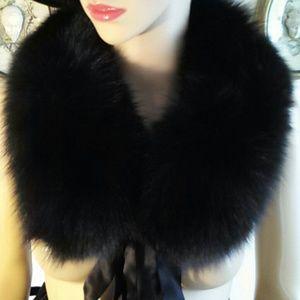 Black Fox collar or headband